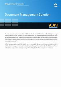 Document management solution ion cloud erp for Cloud document management solutions
