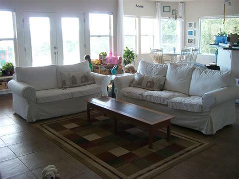 furniture fresh   ektorp slipcovers   living room decor lesstestingmorelearningcom