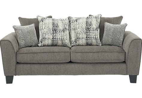austwell gray sofa classic contemporary