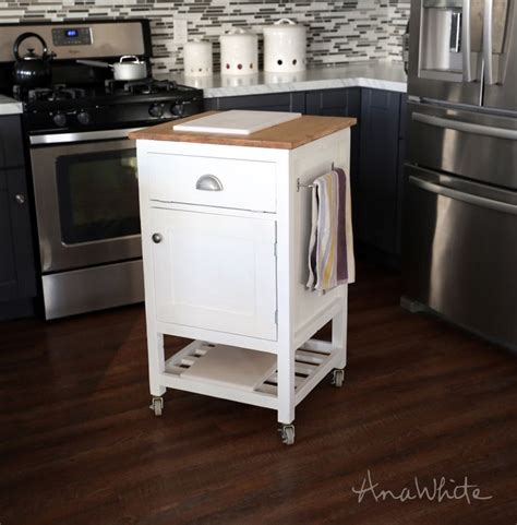 kitchen island cart plans white build a how to small kitchen island prep cart