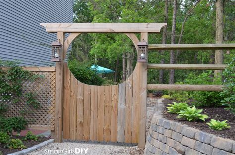 garden arbor with gate diy garden arbor