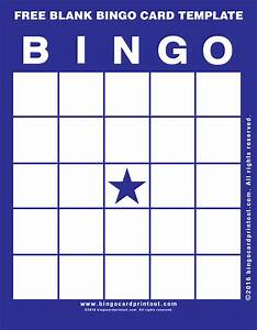 free blank bingo card template bingocardprintoutcom With bingo sheet template