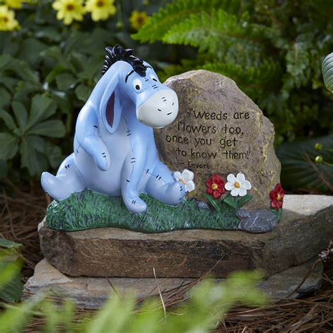 disney garden decor disney disney eeyor garden rock outdoor living outdoor