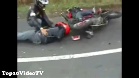 Top 10 Worst Motorcycle Accidents! Top10videotv