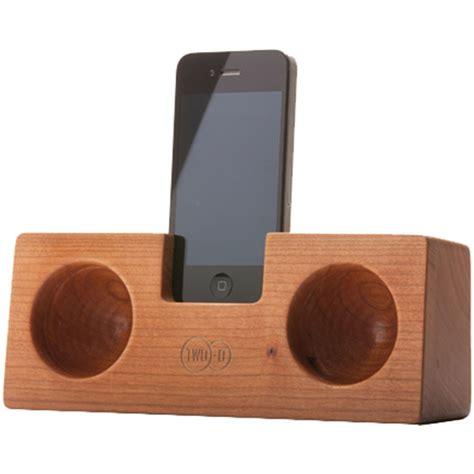 wooden iphone speaker iphone speaker wooden acoustic speaker two o