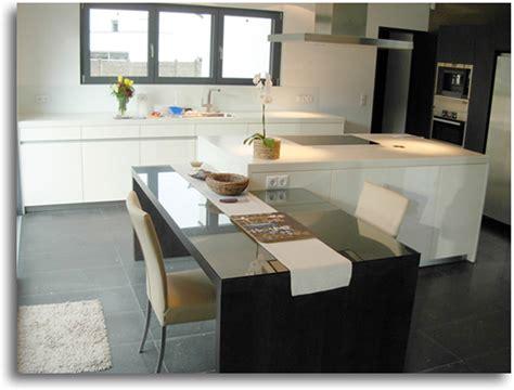 cuisine moderne avec ilot central ilots central cuisine ilot central en bton ou industriel