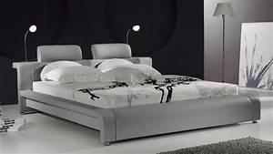 Luminaire Haut De Gamme Contemporain : lit design contemporain bianco un lit moderne en cuir au design contemporain mobilier moss ~ Melissatoandfro.com Idées de Décoration