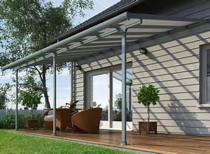 Toit Terrasse Aluminium : toit terrasse aluminium polycarbonate gris ~ Edinachiropracticcenter.com Idées de Décoration
