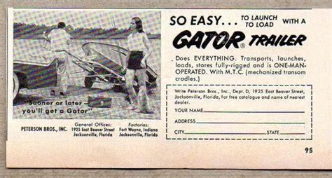 Aluminum Boat Trailer Jacksonville Fl by 175 Best Vintage Boat Ads Images On