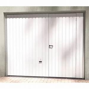 Porte de garage coulissante motorisee avec portillon for Porte de garage coulissante avec portillon grillage