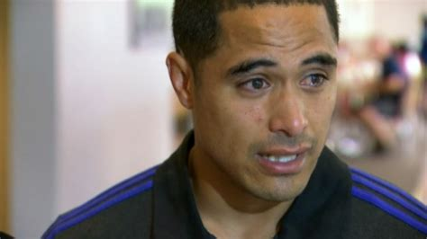 Emotional Aaron Smith In
