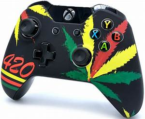 Quot420quot Xbox One Modded Controller