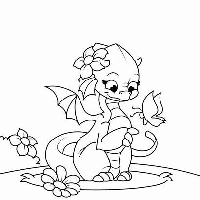 Dragon Coloring Dragons Pages Fire Printable Adults