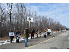 Concerned Citizens Protest Proposed Oxford Power Plant