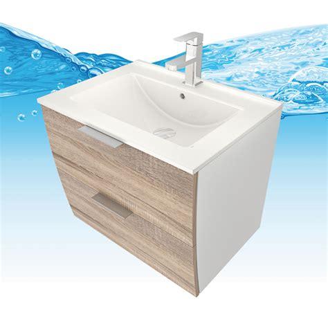 2 Waschbecken Mit Unterschrank by Waschtisch Mit Waschbecken Unterschrank Gently 2 60cm