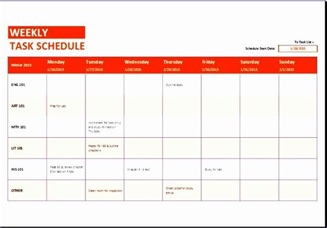 shift schedule excel template exceltemplates