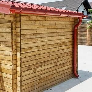 Gouttière Pour Abri De Jardin : kit goutti res rouge pack pr t la pose pour abri gardy shelter 6m ~ Melissatoandfro.com Idées de Décoration
