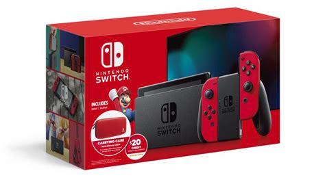 Nintendo Mario Edition Bundle Switch Odyssey