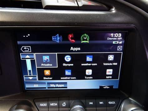 Chevrolet Unveils Mylink App Integration  Ces 2014