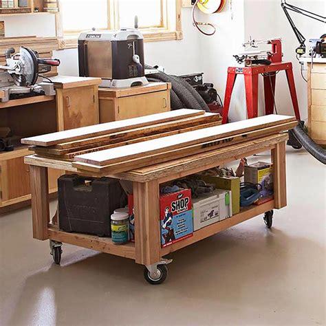 storage cart woodworking plan  wood magazine