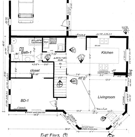 home construction floor plans house building plans abeeku house plan 1497 bungalow house