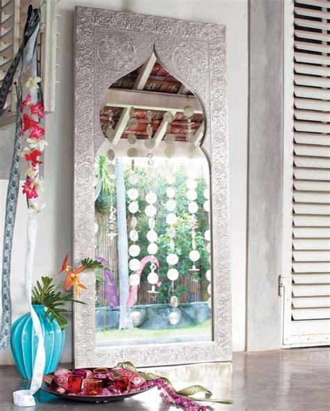 miroir maisons du monde style indien photo 11 20 fabrication en bois recouvert d aluminium