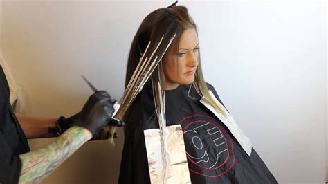 How To Do Ombre Hair by Ombr 233 How To Balayage Driven Ombr 233 Technique Featuring