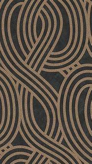 Buy Carat Geometric Glitter Wallpaper - Black and Gold ...
