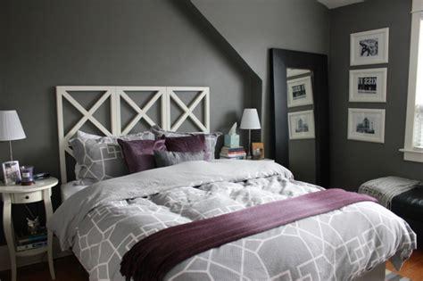 chambre contemporaine grise la chambre grise 40 idées pour la déco archzine fr