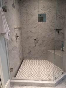 Carrelage Douche à L Italienne : douche l 39 italienne encastrable 50 salles de bains modernes ~ Melissatoandfro.com Idées de Décoration