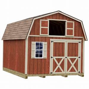 best barns millcreek 12 ft x 16 ft wood storage shed kit With 16 x 28 barn kit