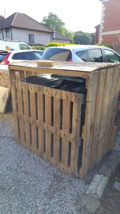 garbage bin storage shed best 25 garbage storage ideas on garbage shed