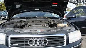 2004 Audi A8 4 2l V8 Running Engine