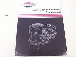 Briggs  U0026 Stratton Engine Ohv Repair Manual  273521  New