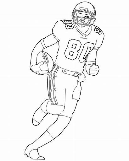 Coloring Football Nfl Players Player Google Sheets