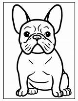Coloring Puppy Printable Birthday Dog Favor Sheet Activities Shower Bulldog Drawing sketch template