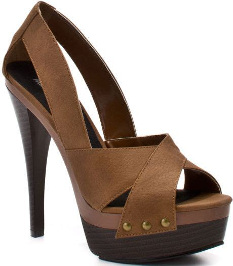 Michael Antonio Brown Kairu Pump Tan Pu | Heels, Pretty ...