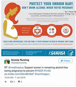 As Fetal Alcohol Syndrome Story Trends  Public Warned Of