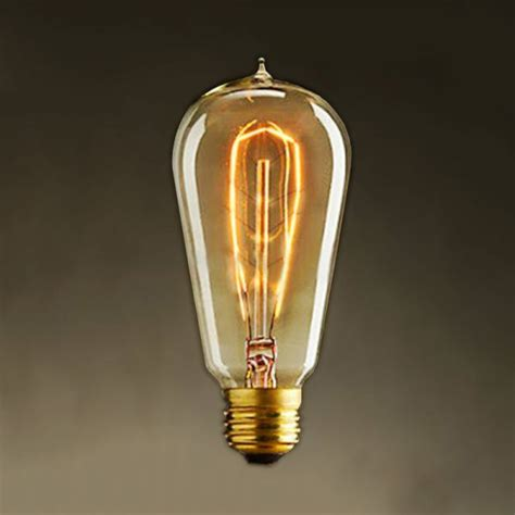 old fashioned light bulbs old fashioned style edison squirrel cage filament light