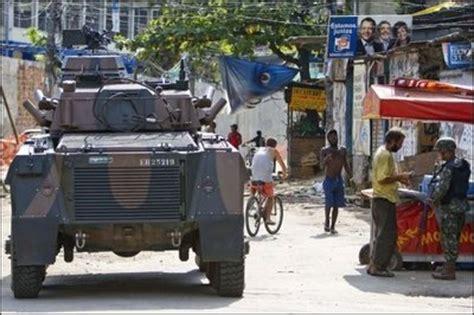 La police de Rio s'empare du bastion des narcotrafiquants ...