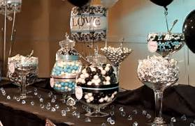 Table Decorations Black And White Theme White Party Decorations Party Favors Ideas
