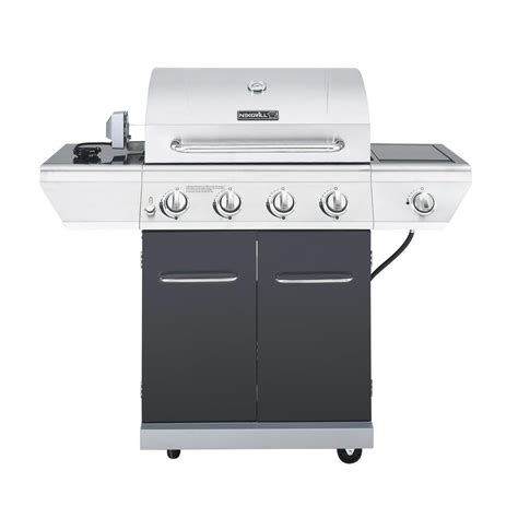 nexgrill 4 burner propane gas grill with sear side burner
