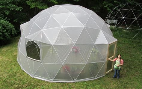 Prefab Roomsized Geodesic Domes