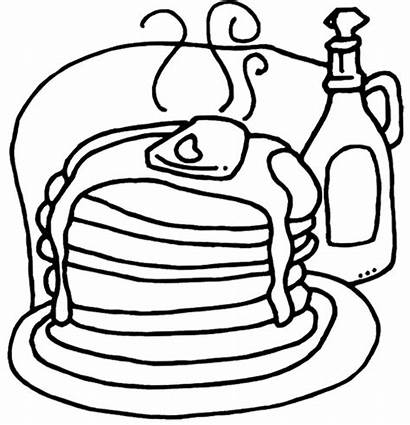 Pancake Coloring Pages Pages14 Pancakes
