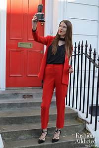 Red Women Suit Outfit - Fashion Addicted
