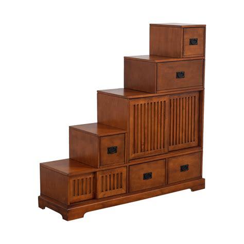 tansu step chest storage