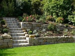 Weggestaltung Im Garten : roo galabau natursteinmauer ~ Yasmunasinghe.com Haus und Dekorationen