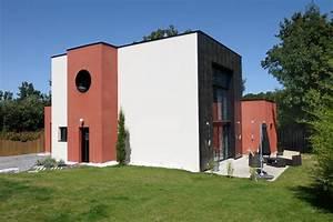 Maison contemporaine Contemporain Façade Angers par Studio SD