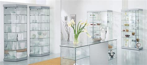 what to display in glass kitchen cabinets glass display cabinets direct 2153