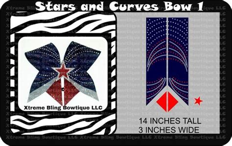 cheer bow template and 1 cheer bow template xtreme bling bowtique llc